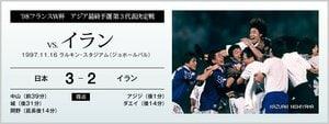 '98フランスW杯アジア最終予選 第3代表決定戦 vs.イラン