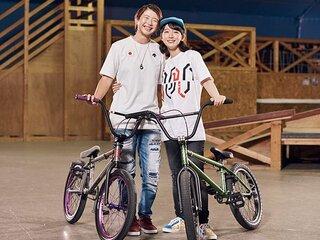 いい顔に迫る資生堂クロストーク「ONE ON ONE」 大池水杜(自転車BMX選手) × 吉岡里帆(女優)