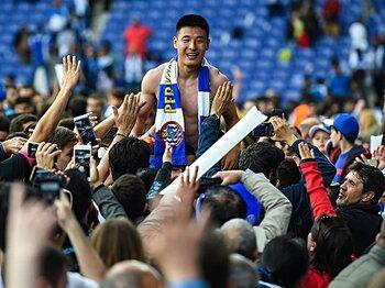 エスパニョールを知る日本人に聞く。中国人ウー・レイ獲得で何が変化?<Number Web> photograph by Getty Images