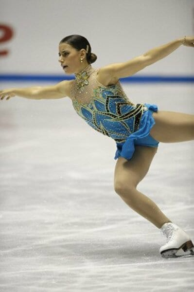 2008フィギュアスケートグランプリシリーズ NHK杯 女子シングルショートプログラム