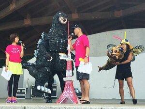 小布施見にマラソンで出会った人々。猛暑を完走した87歳の仮装ランナー。