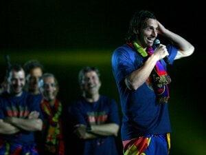 圧倒的な強さで連覇を達成しても、バルサの攻撃サッカーは発展途上。