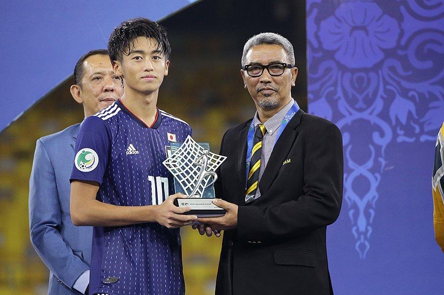 U-16エースFW西川潤が目覚めた、ゴールよりチームを勝たせる責任。<Number Web> photograph by AFLO