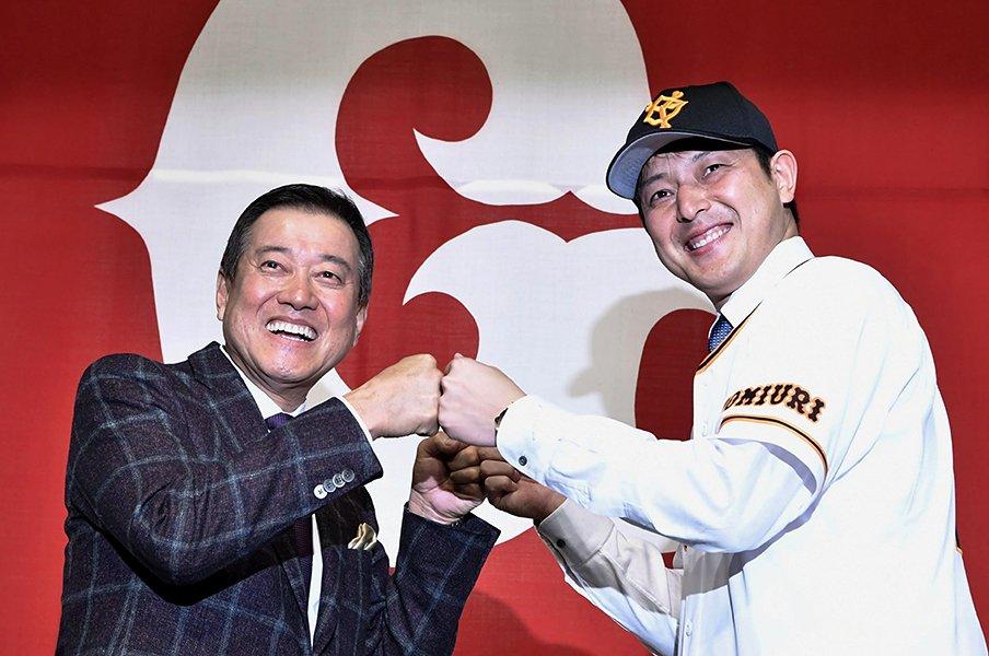 原辰徳監督の背番号シャッフルは、実は大きな「勝負手」だった!?<Number Web> photograph by Kyodo News