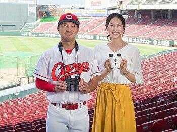 <特別対談> 畠山愛理×菊池涼介「自分流の野球スタイルを見てほしいですね」<Number Web> photograph by Miki Fukano