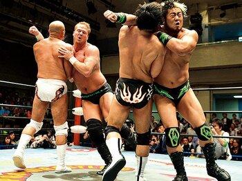 年末恒例、全日本の最強タッグ戦が熱い。~諏訪魔組の連覇を止められるか?~<Number Web> photograph by NIKKAN SPORTS