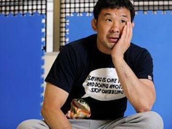 桜庭和志 「Number Webも10年。うちの長男も10歳(笑)」<Number Web> photograph by Takuya Sugiyama