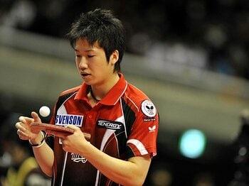 """全日本5連覇を遂げた卓球界の天才。21歳の水谷が持つ""""驚異的な自信""""。<Number Web> photograph by Keisuke Koito/PHOTO KISHIMOTO"""