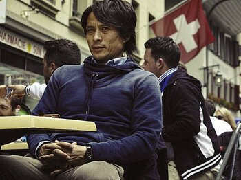 <元主将の回想と提言> 宮本恒靖 「コンフェデからW杯へあと1年で何ができるか」<Number Web> photograph by Takuya Sugiyama