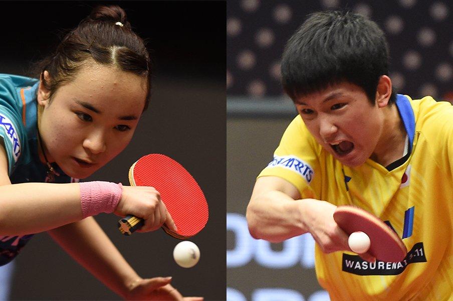 延期になった東京五輪まで1年。伊藤美誠と張本智和は何を思う?
