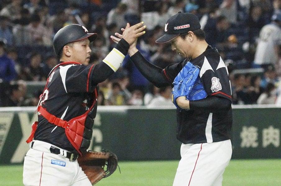 ロッテ井口監督「真っ直ぐが大事」。悩める益田直也に強気は戻るか。