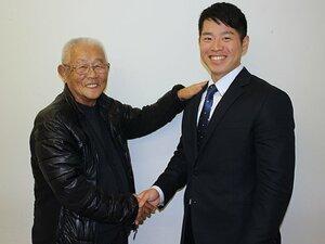 79歳名将も驚いた梅林優貴の急成長。ストイックな4年間経て日本ハムへ。