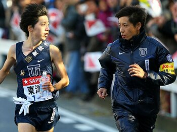 強豪校の監督たちがトークバトル!?箱根への駆け引きは始まっている。<Number Web> photograph by AFLO