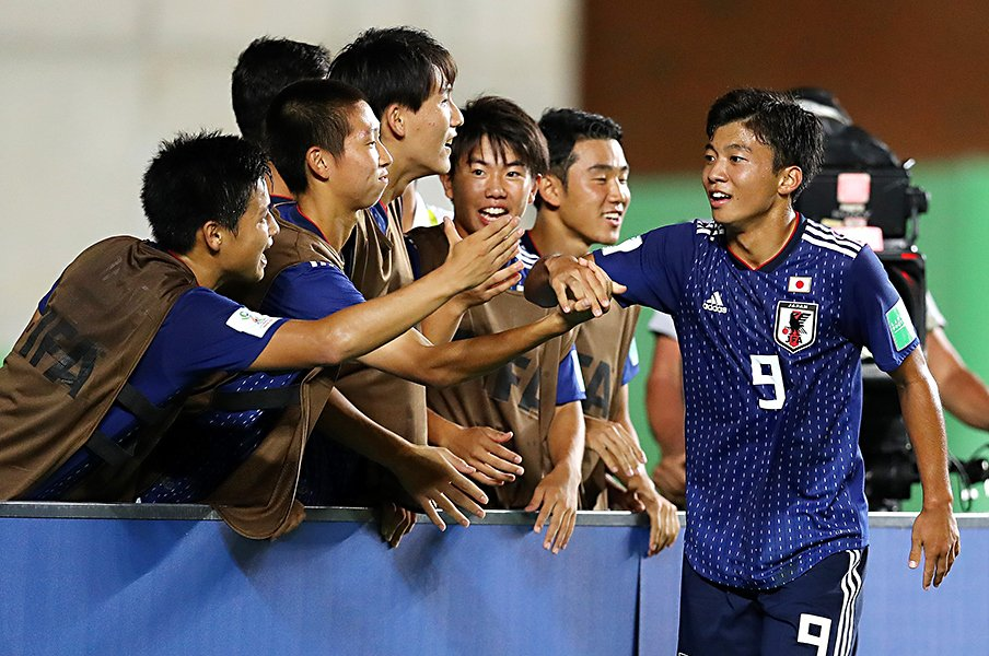 U-17W杯、オランダ撃破は必然だった。西川潤と若月大和が秘める強い意志。<Number Web> photograph by Getty Images