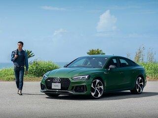 <進化した走りを体感> Audi RS 5 × 松田丈志 トップアスリートが知る極限の世界。