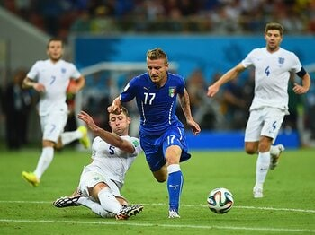 セリエA得点王は、伊達じゃない。インモービレはイタリアを救うか。<Number Web> photograph by Getty Images