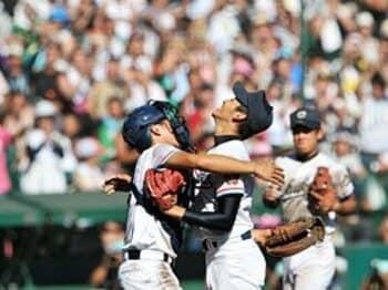 """勝者も敗者もハッピーだった!? 中京大中京の優勝にみる""""神の手""""。<Number Web> photograph by Hideki Sugiyama"""
