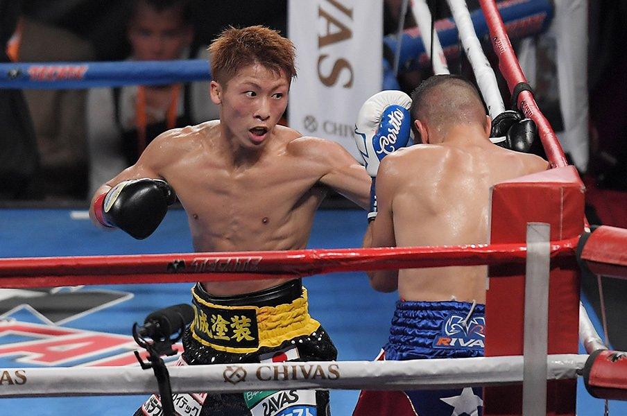 年末ボクシングは何故こうなった?不在の井岡、絶対の井上、他は乱世。<Number Web> photograph by AFLO