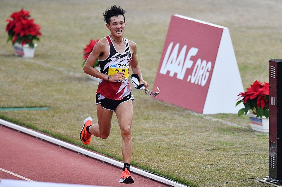 マラソンと暑さ。~大迫の日本記録は13度、20度では暑すぎる~<Number Web> photograph by AFLO