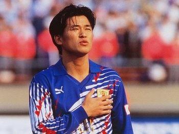カズがW杯予選に武者震いした日。福田正博に届いた「来い!」の声。<Number Web> photograph by AFLO