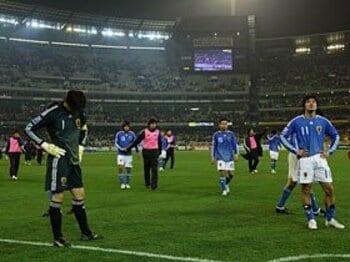 【W杯アジア最終予選/vs.豪州】 この敗戦を糧にするためにも、Jリーグでの意識改革が必要。<Number Web> photograph by Tamon Matsuzono