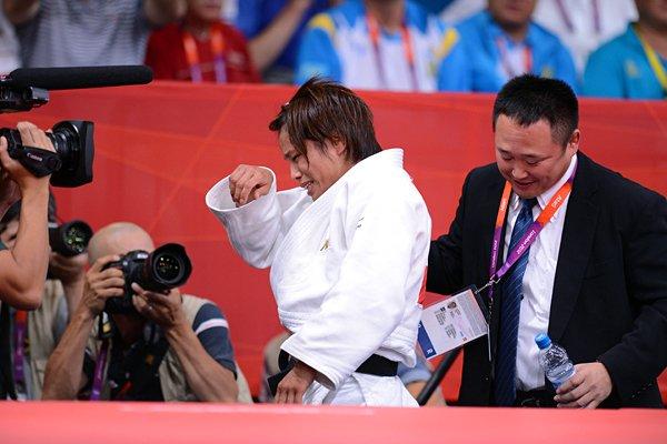 日本人金メダル第1号、松本薫の笑顔。~ロンドン五輪2012~