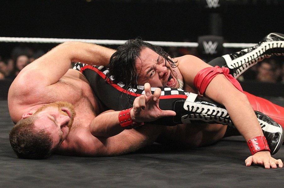「全てが日本仕様」の満点スタート。中邑真輔のWWEデビューは前代未聞。<Number Web> photograph by WWE