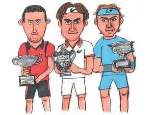 男子テニスの生涯グランドスラム達成者、誰がいちばん強い?