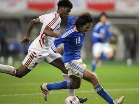 キリンチャレンジカップ2008 VS. UAE