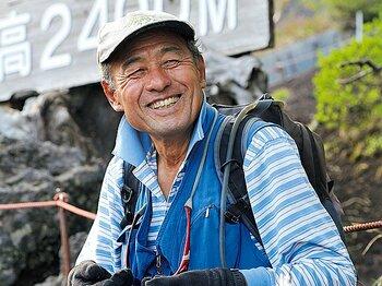<富士山を10倍楽しむ方法> 實川欣伸 「御来光見物の絶景スポット」<Number Web> photograph by Nanae Suzuki