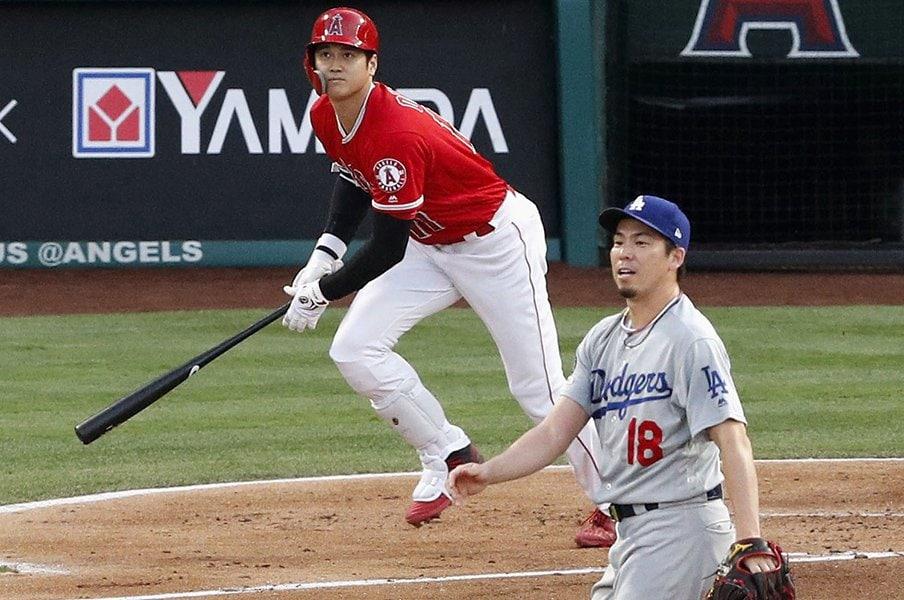前田健太が大谷翔平に持つ親近感。「打って、投げて、走る」のが野球。<Number Web> photograph by Kyodo News