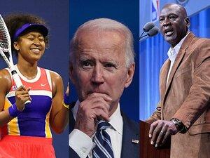 バイデンに大坂なおみ「THANK YOU」 ラピノー、ジョーダン&レブロンも…大統領選と米スポーツの密接さ