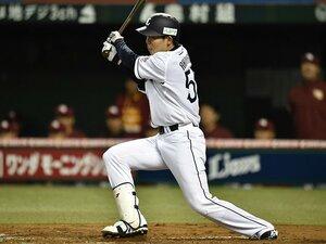 西武・秋山翔吾の打撃は「神の領域」。連続安打日本記録まで、あと7試合。