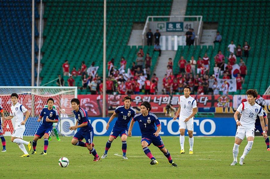 ロシアW杯まであと2年半――。日本の歩みを韓国と比べてみると。<Number Web> photograph by Takuya Sugiyama