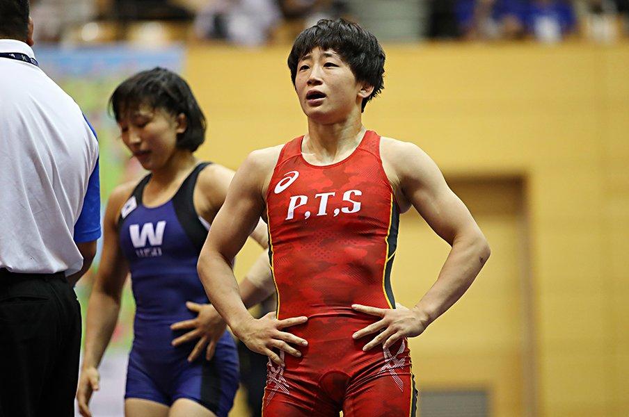 """""""世界""""と縁遠かった入江ゆきの逆襲。攻めきるレスリングで掴む東京五輪。<Number Web> photograph by AFLO"""