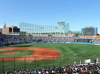大学野球の走塁タイムは大谷級!?ドラフト候補の全力疾走は必見だ。<Number Web> photograph by Tadashi Hosoda