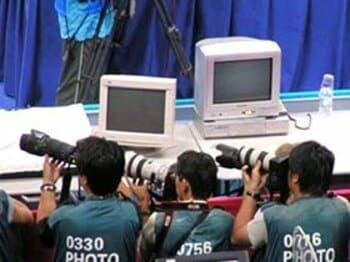 【特別連載 山崎浩子のアテネ日記 第4回】念をおくる。<Number Web> photograph by Hiroko Yamasaki