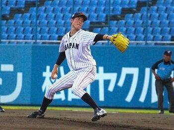 「森下暢仁の球質は岸孝之のよう」日米大学野球のドラフト候補の評価。<Number Web> photograph by Yu Takagi