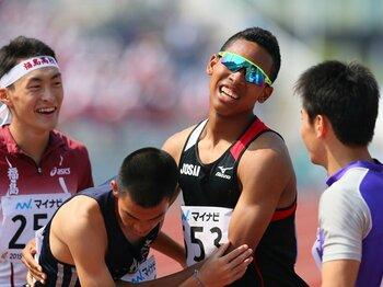 サニブラウンは既に勝負の綾を知る。東京五輪を21歳で迎えるという事実。<Number Web> photograph by AFLO