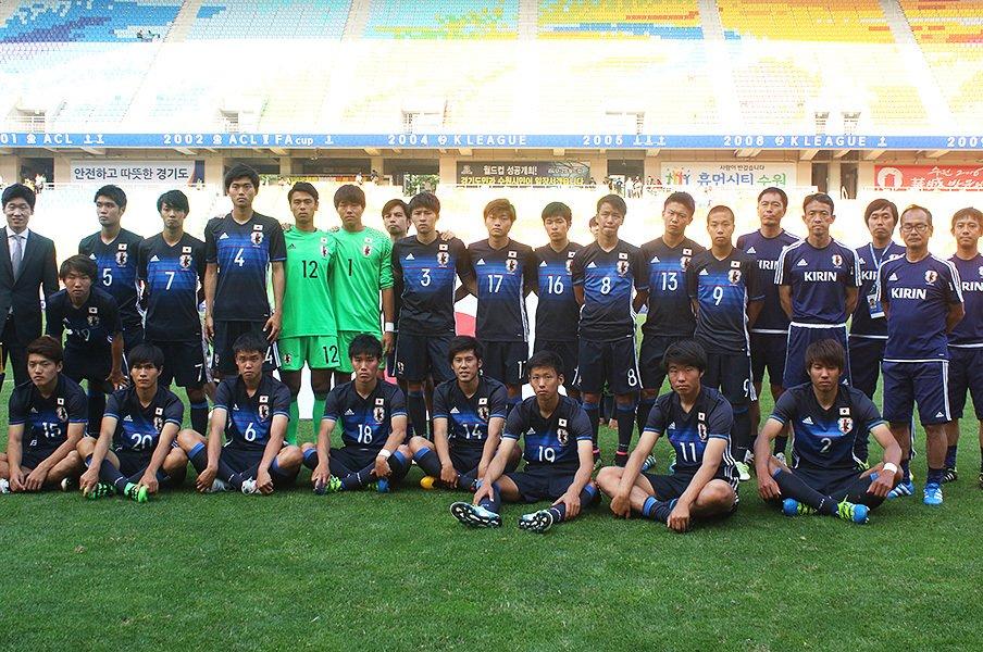 フランス、ブラジル、韓国との激闘。水原JS杯でU-19が得た貴重な経験。<Number Web> photograph by Takahito Ando