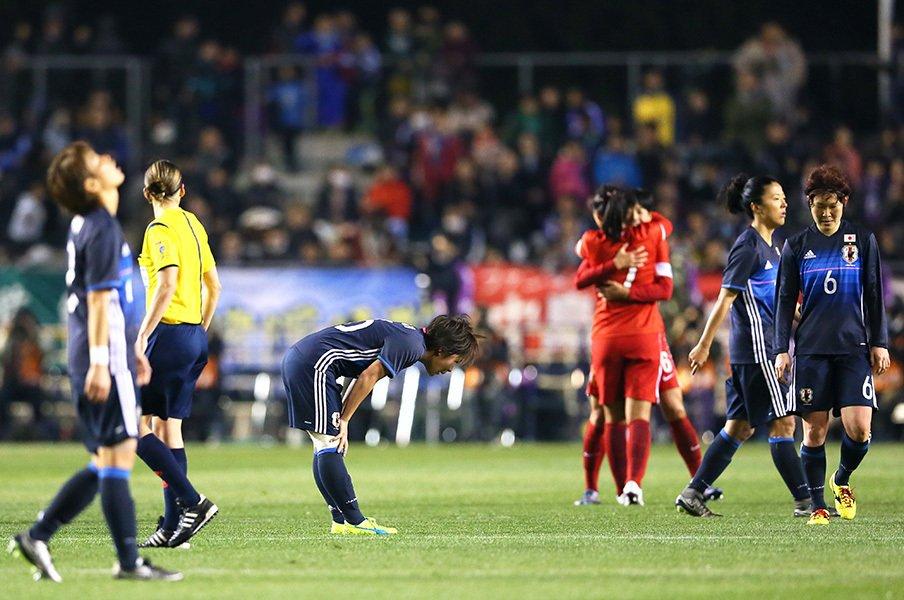 何があれば、なでしこは勝てたのか。五輪予選の「不運と自滅」を考える。<Number Web> photograph by Yohei Osada/AFLO SPORT