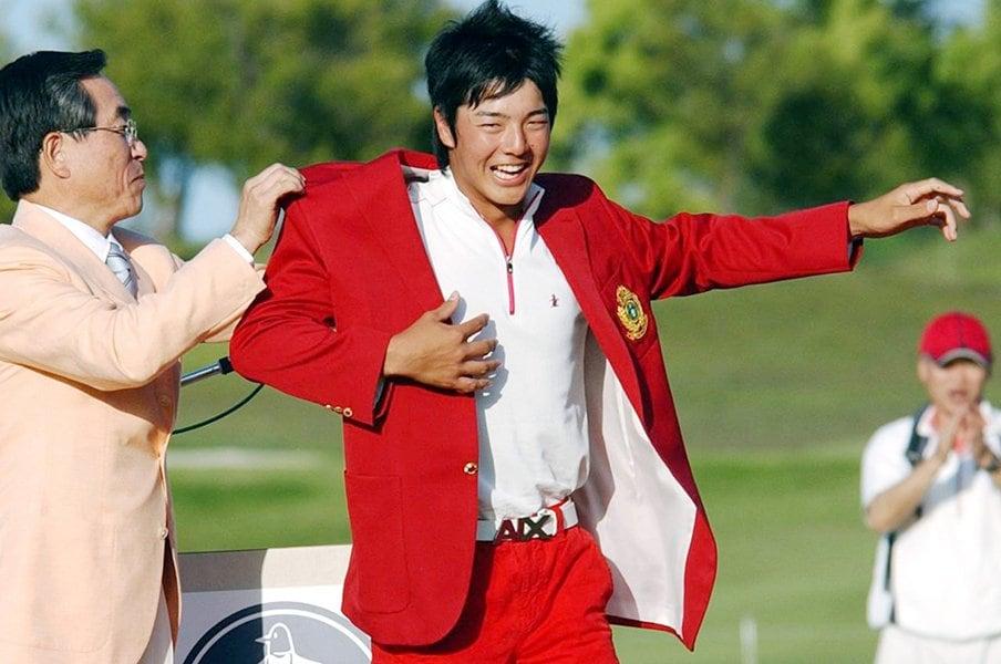 石川遼、15歳が掴んだ奇跡の初優勝。思い返すと「まさに社会科見学」。<Number Web> photograph by Kyodo News