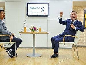 """上野裕一会長が池田純に語った、サンウルブズ結成までの""""夢物語""""。"""