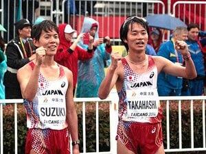 世界ランクの1位と3位が日本人!黄金時代は、競歩の歴史を覆すか。