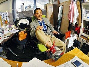 <フルマラソン、みんなのマイ・ルール> 参議院議員・弁護士 丸山和也 「右足を出したら、次は左足を出す。ただそれだけだよ」