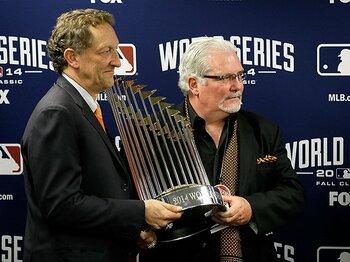 """""""ジャイアンツ時代""""を築いた名GM。MLBの潮流は、資金力よりも「育成」?<Number Web> photograph by Getty Images"""