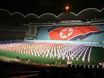 <現地潜入取材> 北朝鮮 44年前の奇跡をもう一度。/特集:W杯出場32カ国決定<Number Web> photograph by Park Jong Tae