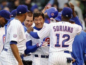 苦手とする6月を越えられるか?好調の福留孝介、MLB4年目の真価。<Number Web> photograph by Getty Images