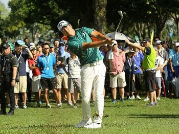 """石川遼は""""大人の事情""""を壊す達人。選手会長になる前から数々の実績が。【2018年 ゴルフ部門1位】<Number Web> photograph by Yoichi Katsuragawa"""