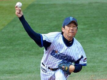 '98年の夢をもう一度!三浦大輔が横浜を熱くする。~ハマの番長、22年目も健在~<Number Web> photograph by NIKKAN SPORTS